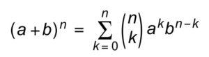 Формула треугольника Паскаля