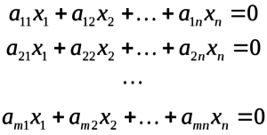 Собственные векторы матрицы