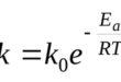 Уравнение Арениуса
